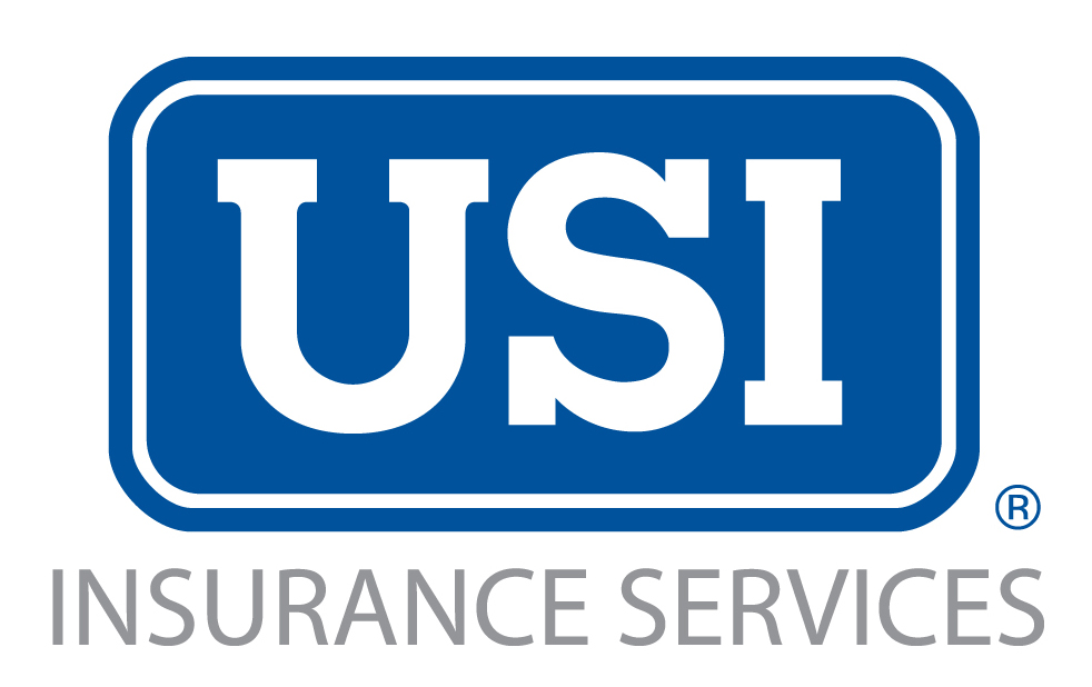 USI Ins Services blue gray tag